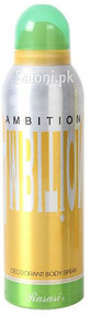 Rasasi Ambition Deodorant Body Spray