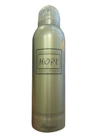 Rasasi Hope Pour Femme Deodorant Body Spray Front