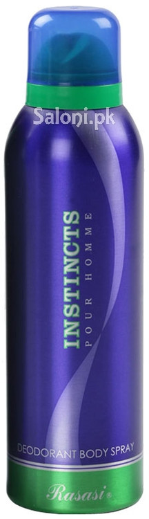 Rasasi Instincts Deodorant Body Spray for Men