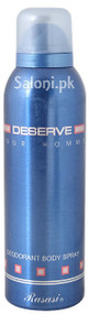 Rasasi Deserve-D Deodorant Body Spray for Men