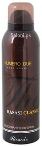 Rasasi Classic Numero Due Deodorant Body Spray for Men