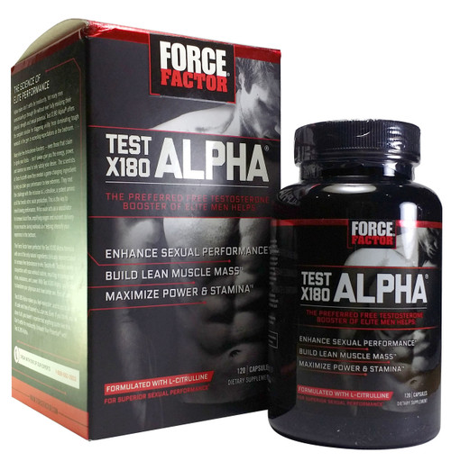 Buy GNC Force Factor Test X180 Alpha 120 Capsules For Rs