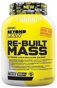 Gnc Beyond Raw Re-Built Mass - Vanilla Cake Batter