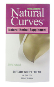 GNC Biotech Corporation Natural Curves Breast Enhancement 60 Tablets(Front)