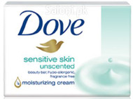 Dove Sensitive Skin Unscented Beauty Bar