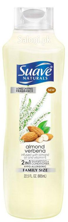 Suave 2-in-1 Almond Verbena Shampoo + Conditioner