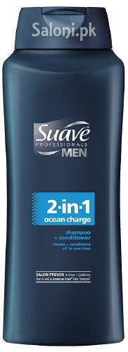 Suave Men 2-in-1 Ocean Charge Shampoo & Conditioner