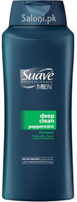 Suave Men Deep Clean Peppermint Shampoo