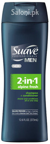 Suave Men 2-in-1 Alpine Fresh Shampoo & Conditioner
