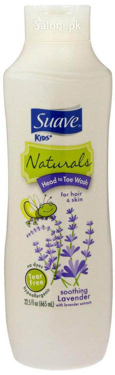 Suave Soothing Lavender 3-in-1 Shampoo & Conditioner & Body Wash