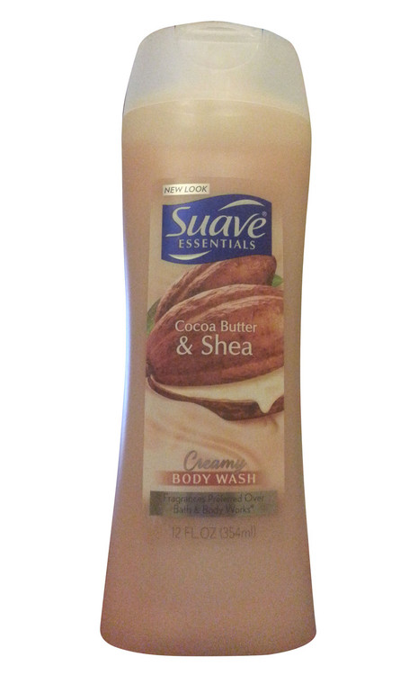 Suave Creamy Cocoa Butter & Shea Moisturizing Body Wash 354 ML(Front)