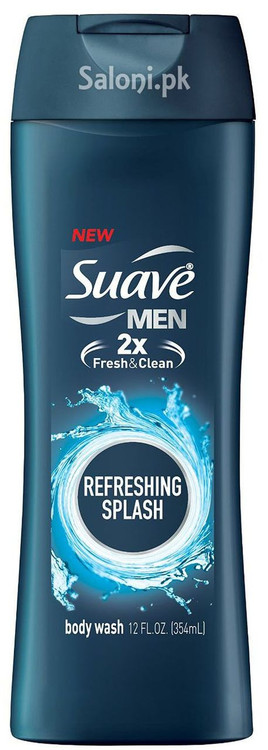 Suave Men Refreshing Splash Body Wash