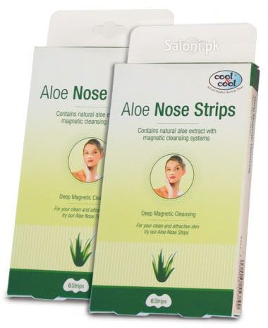 Cool & Cool Aloe Nose Strips 6 Strips