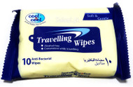 Cool & Cool Travelling Wipes