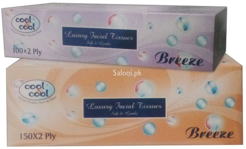 Cool & Cool Breeze Facial Tissues