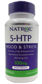 Natrol 5-HTP Fast Dissolve Extra Strength 100mg - 30 Tablets Buy online in Pakistan on Saloni.pk