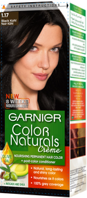 Garnier Color Naturals Hair Color Creme Black Kohl 1.17
