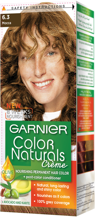 Garnier Color Naturals Hair Color Creme Mocca 6.3