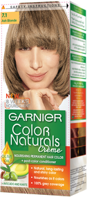 Garnier Color Naturals Hair Color Creme Ash Blonde 7.1