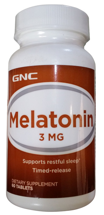 GNC Melatonin 3 MG Front buy online product in pakistan