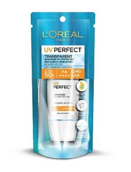 { Clearance } L'Oreal Paris UV Perfect Transparent Advanced Protector SPF 50+