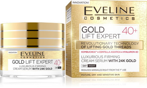 Eveline 24K Gold Lift Expert 40+ Day & Night Cream Serum 50ml buy online in pakistan original eveline products
