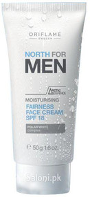 Oriflame North For Men Moisturising Fairness Face Cream SPF 18