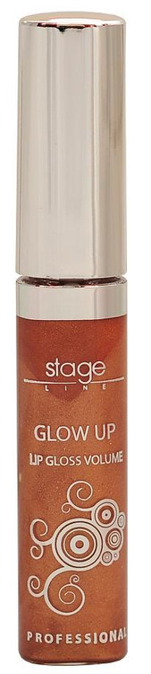 Stage Line Glow Up Lip Gloss Volume Caramel