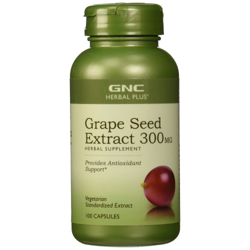 GNC Herbal Plus Grape Seed Extract Front. Lowest price on Saloni.pk