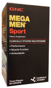 GNC Mega Men Sport 90 Caplets buy online gnc in pakistan lahore