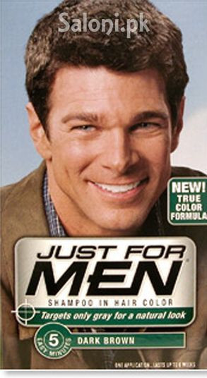 Just For Men Shampoo-In Hair Color Dark Brown