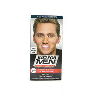Just For Men Shampoo-In Hair Color Light Brown H-25.