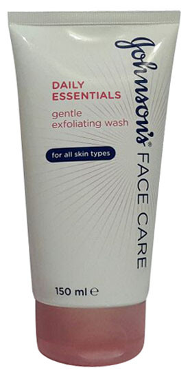 Johnson's Face Care Daily Essentials Gentle Exfoliating Wash (Front)
