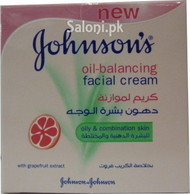 Johnson's Oil-Balancing Facial Cream (Front)