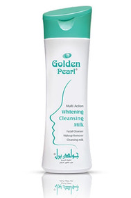 Golden Pearl Multi Action Whitening Cleansing Milk (Front)