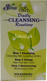 Soft Touch Daily Cleansing Routine 24 ML (Front)