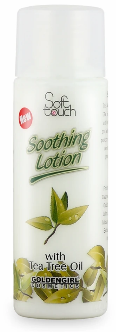 Soft Touch Soothing Lotion With Tea Tree Oil 120ml Buy online in Pakistan on Saloni.pk