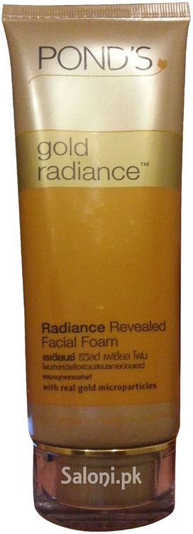 POND'S Gold Radiance Radiance Revealed Facial Foam 100 Grams (Front)