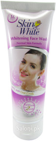 Skincare Skin White Goat Milk Whitening Face Wash 65 Grams (Front)