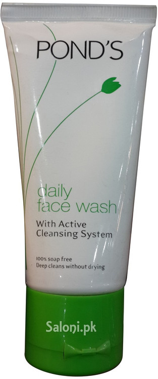 Pond's Daily Face Wash with Active Cleansing System (Front)