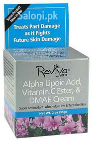 GNC Reviva Labs Alpha Lipoic Acid Vitamin C Ester & DMAE Cream