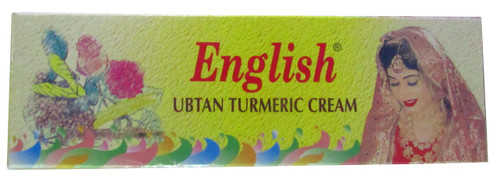 English Ubtan Turmeric Cream