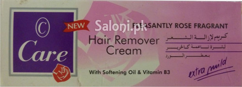 Care Hair Remover Creme with Softening Oil & Vitamin B3 (Front)