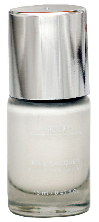 Stage Line Nail Lacquer 02 - Angelic White