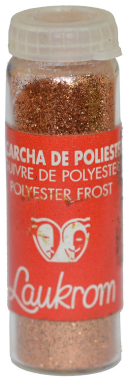Stage Line Polyester Frost Glitter Rojo (Red)