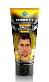 Hollywood Men Fairness Peel Off Mask