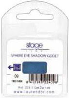 Stage Line Sphere Eye Shadow Refill Pearly Front