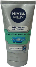 Nivea Men Whitening Oil Control Facial Foam