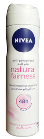 Nivea Natural Fairness Anti Perspirant 48h Deodorant Spray buy online product in pakistan
