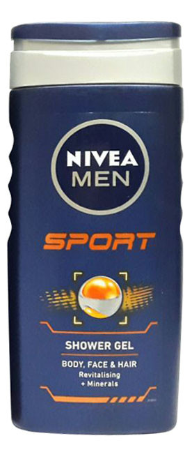 Nivea Men Sports Shower Gel 250 ML (Front)